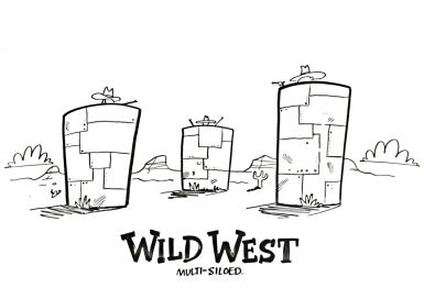 Wild West - a multi-siloed approach to identity